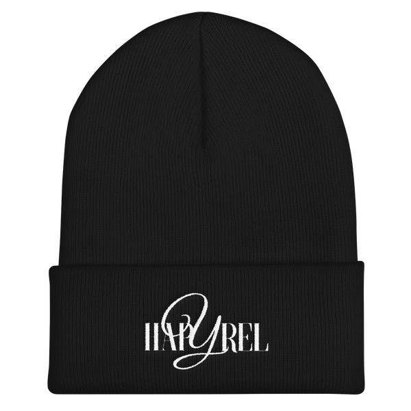 Embroidered Logo Beanie in 5 colors - Hapyrel