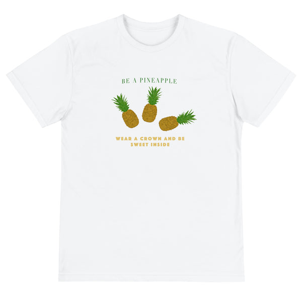 Pineapple Unisex Eco Tee - Hapyrel