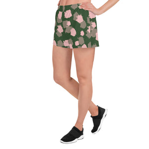 Green Mili Women's Short Shorts - Hapyrel