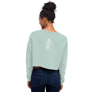 Bella Women's Fleece Crop Sweatshirt - Hapyrel