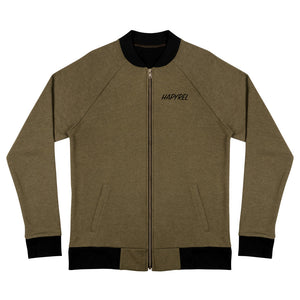 Green Bomber Jacket - Hapyrel