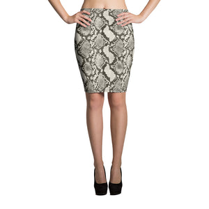 Snake Pencil Skirt - Hapyrel