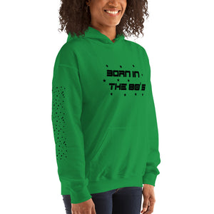 Born in the 80's Hoodie, 4 Colors - Hapyrel