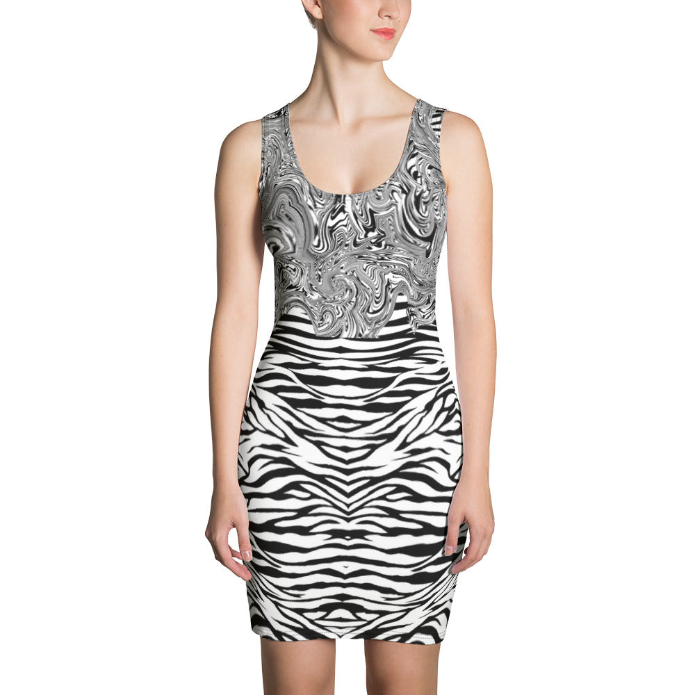 Super Zebra Dress - Hapyrel