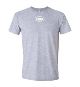 Men's Short Sleeve Cotton T-Shirt with Small Logo