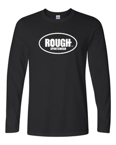Men's Classic ROUGH Long Sleeve Cotton T-Shirt