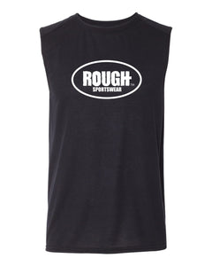 Men's Classic ROUGH Sleeveless Cotton T-Shirt