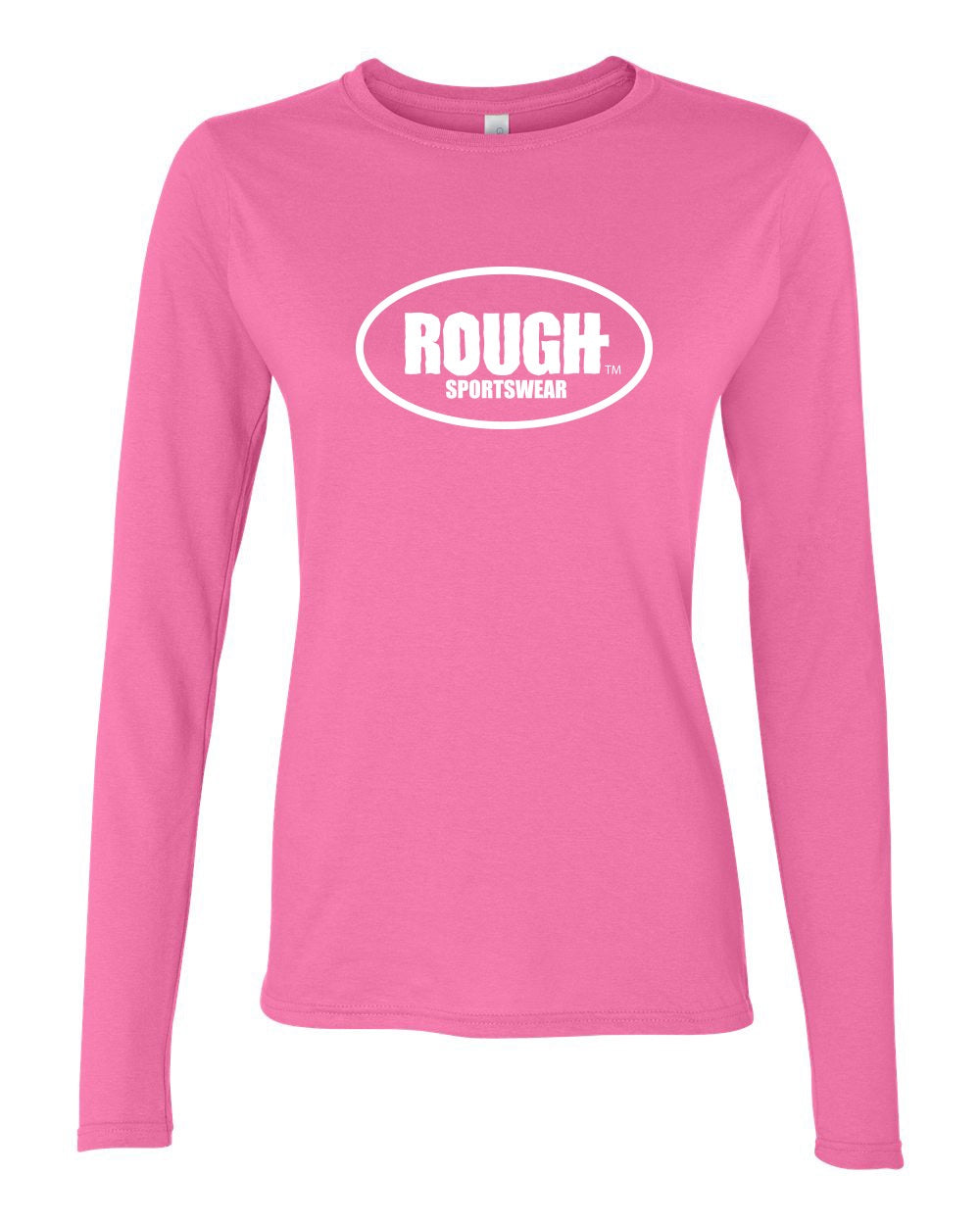 Women's Classic ROUGH Long Sleeve Cotton T-Shirt