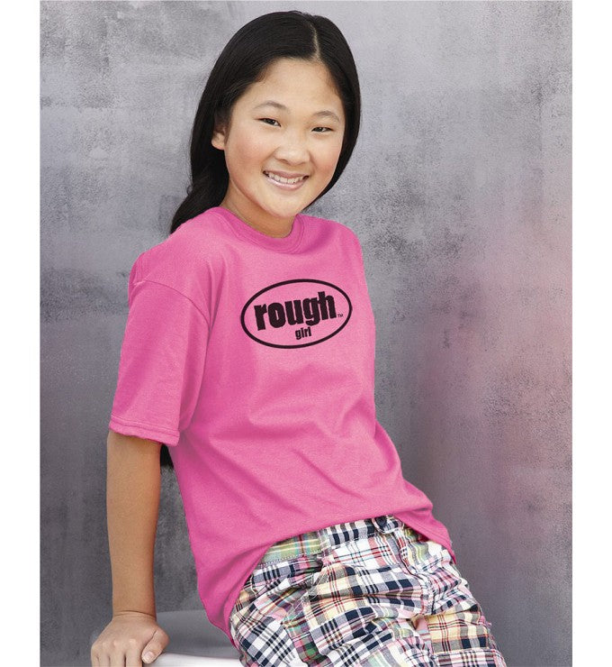 Girls Short Sleeve Cotton T-Shirt