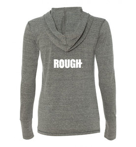 Woman's Triblended Lightweight Long Sleeve Hoodie