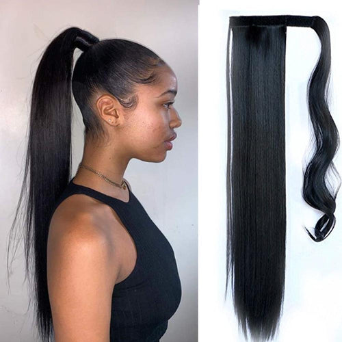 "18"" 100% Indian clip on ponytail"