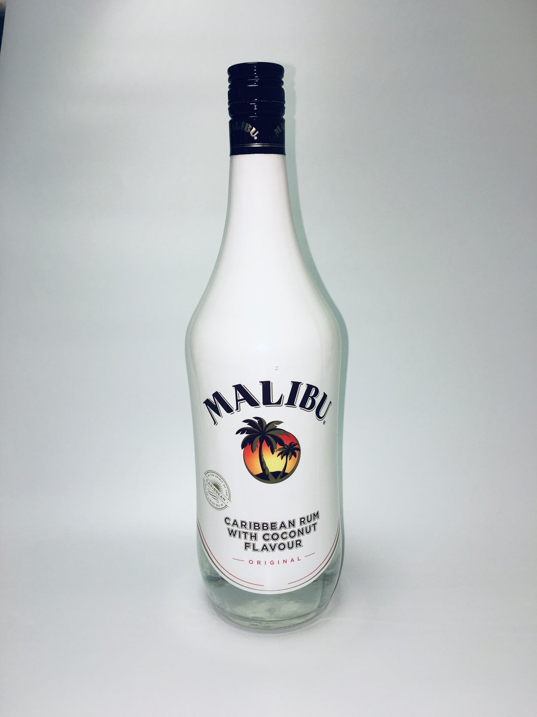 Malibu Caribbean Rum with Coconut Flavour, 1L