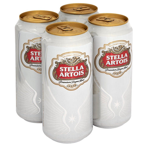 Stella, Lager Beer, 440ml x 4 cans