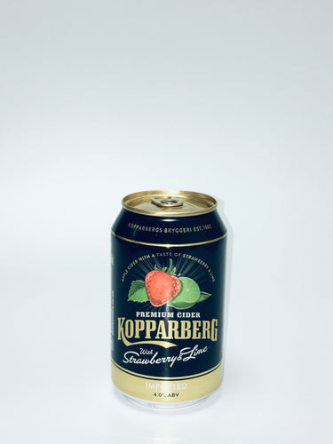 Kopparberg Cider with Strawberry & Lime, 330ml x 4 cans