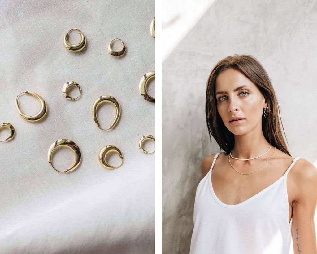 Flawed jewelry - conscious jewelry, slow fashion, girlboss indie brand - Rogue