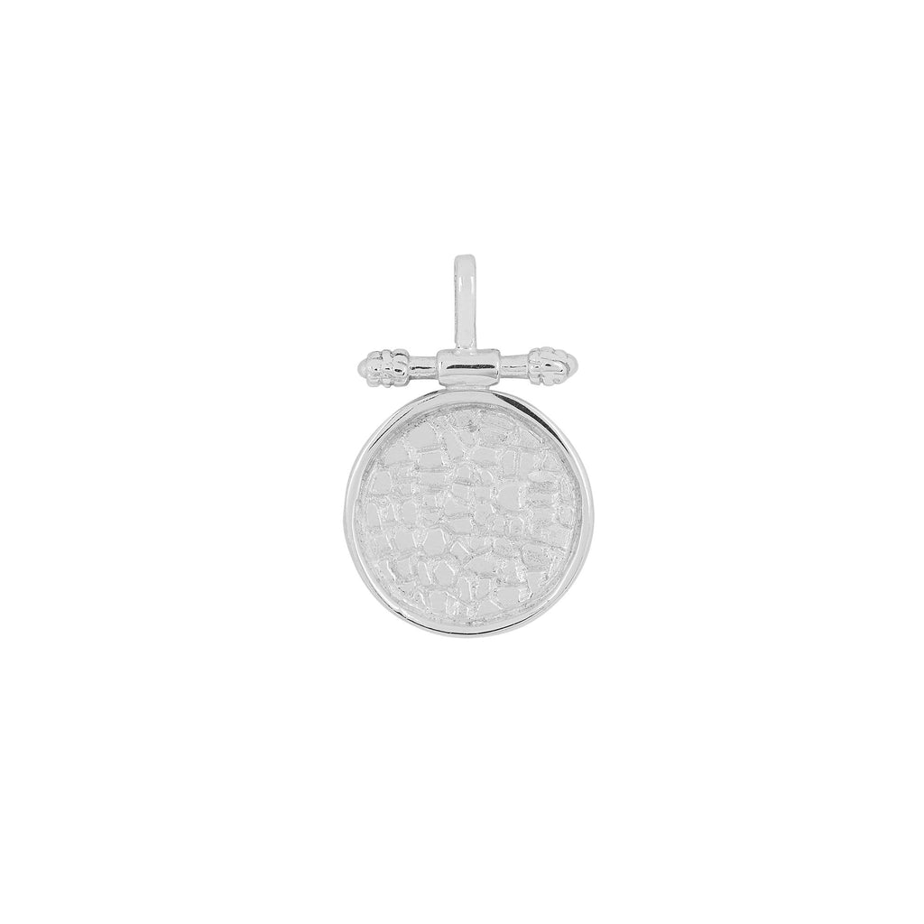 ALFAMA PENDANT SILVER - Necklaces - Flawed