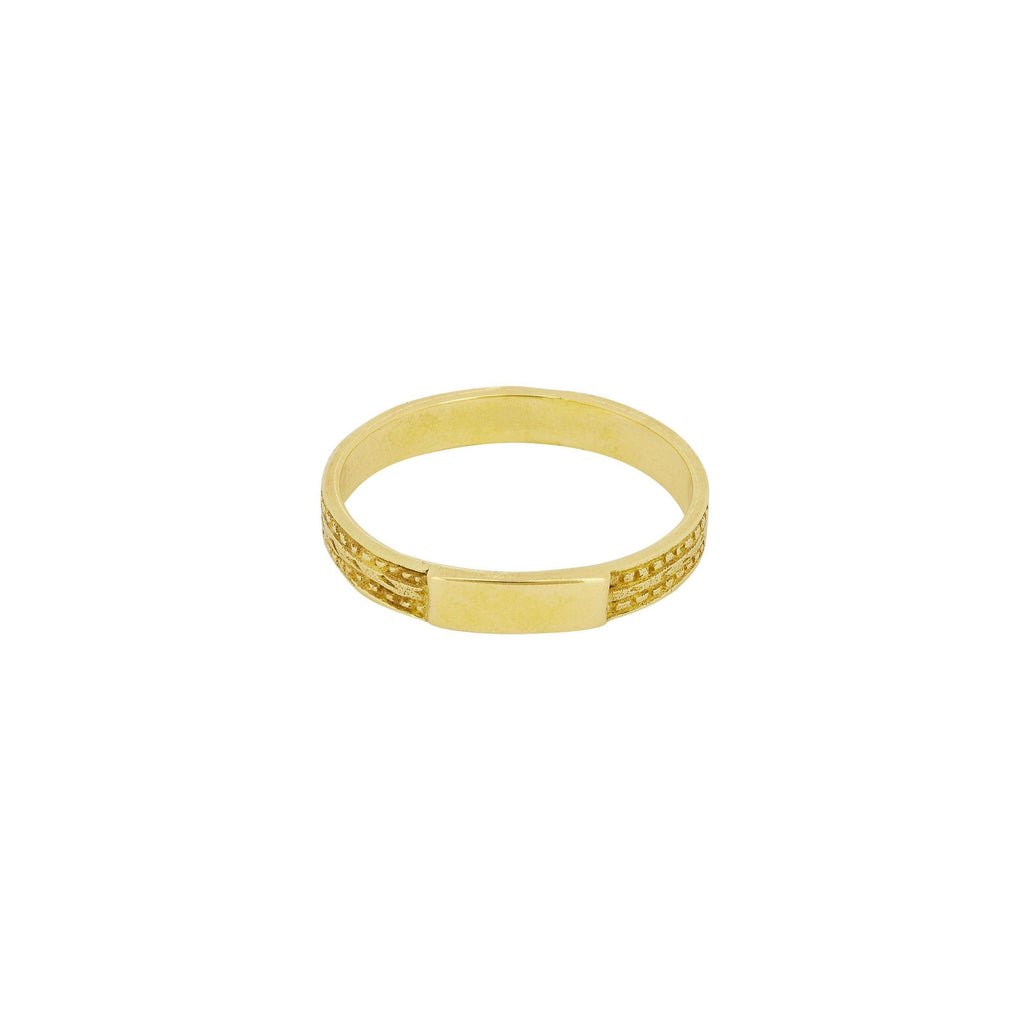 MODERN MUSE RING GOLD - Rings - Flawed