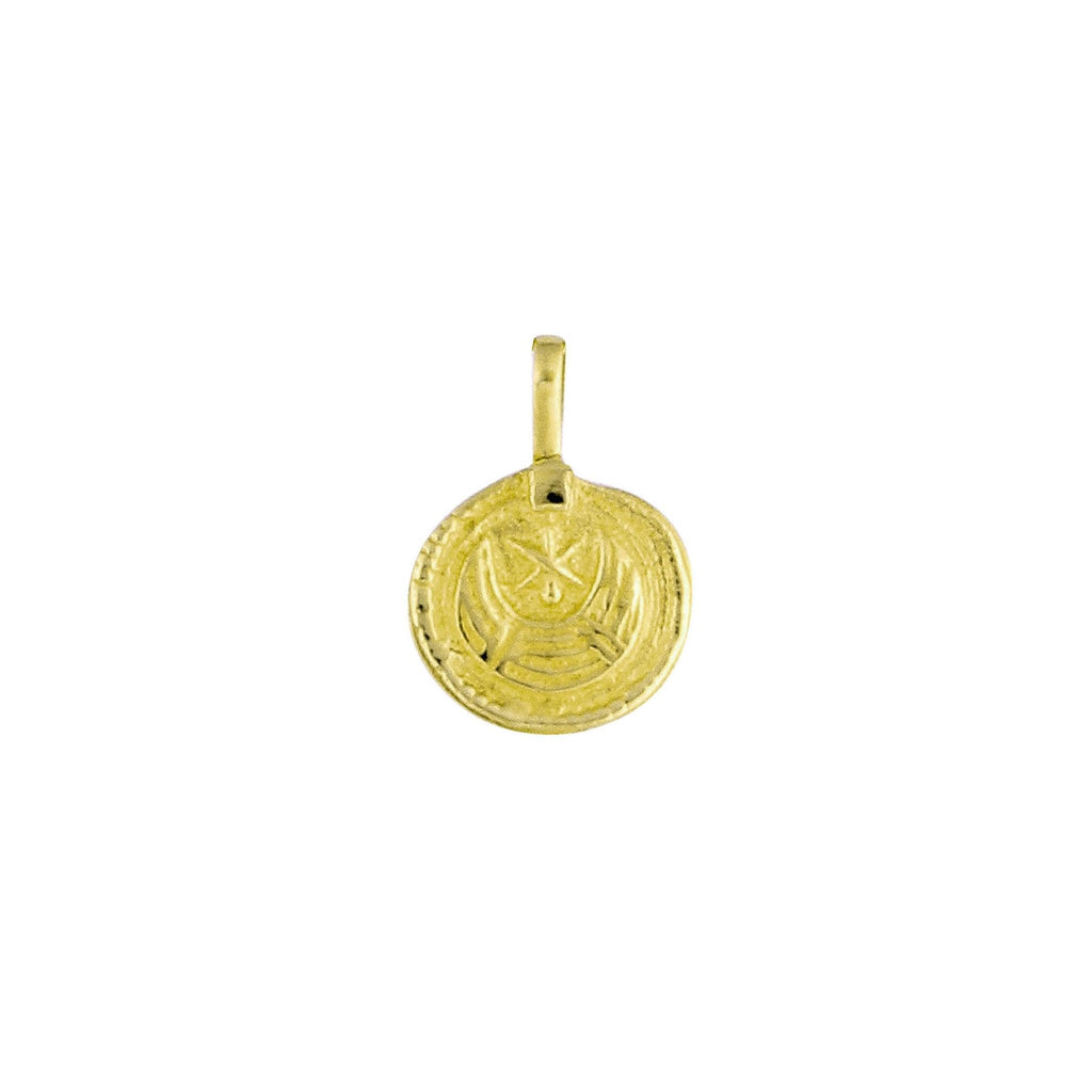 ROSA PENDANT GOLD - Necklaces - Flawed