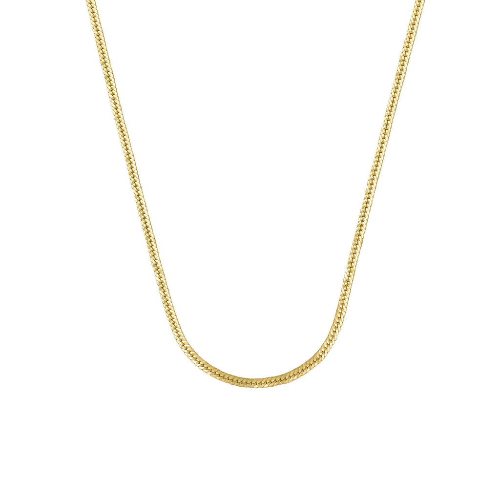 SELECTED FEMME NECKLACE GOLD - Necklaces - Flawed