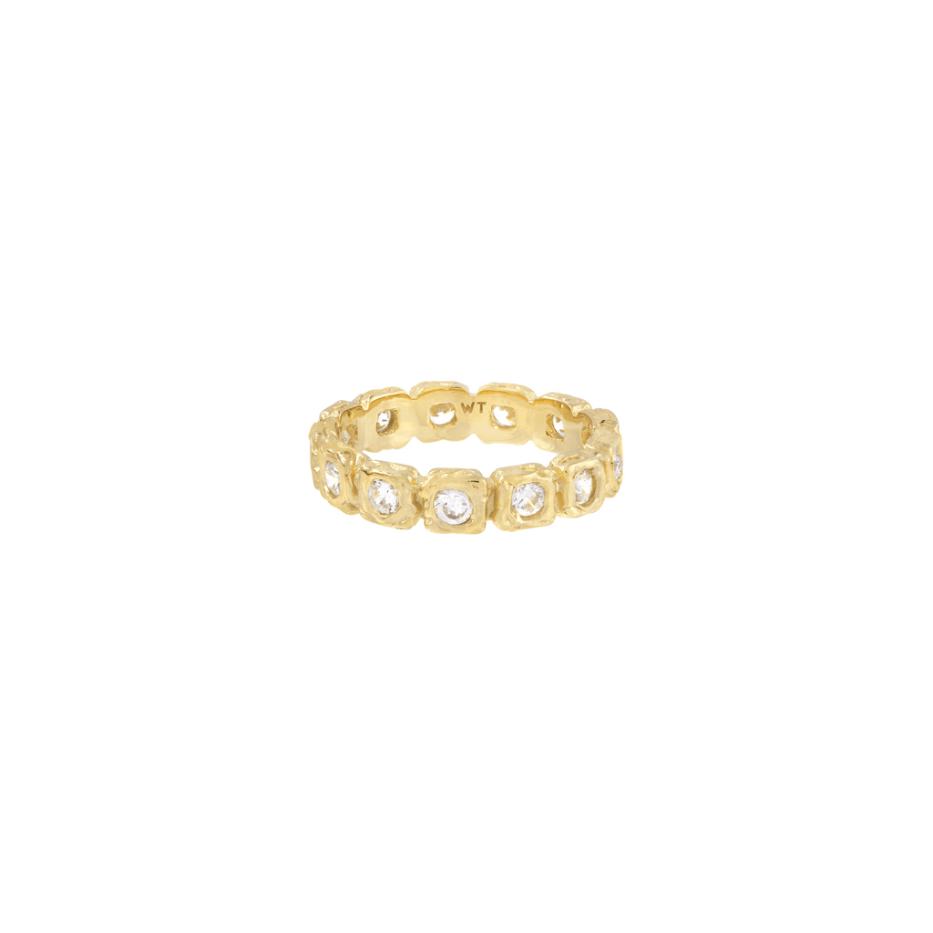 SHINE FOR ETERNITY RING GOLD - Rings - Wildthings Collectables