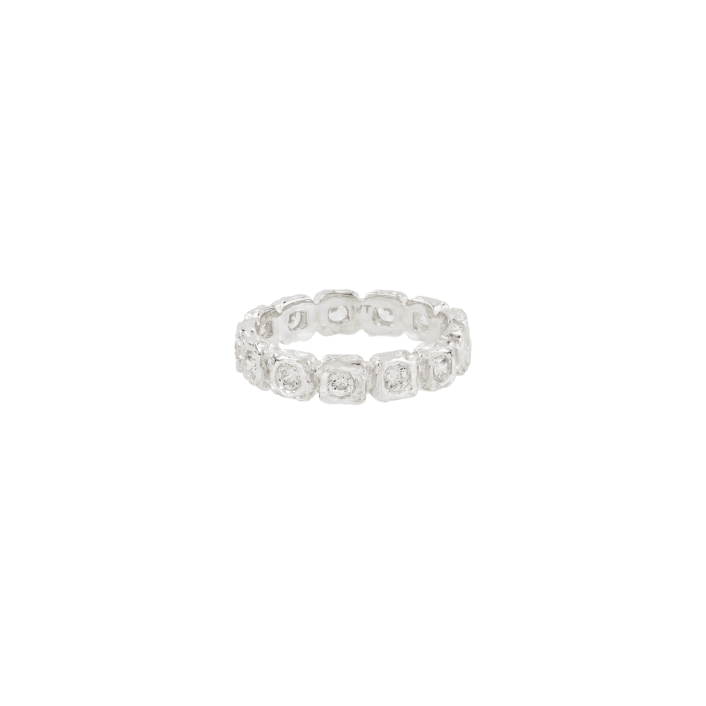SHINE FOR ETERNITY RING SILVER - Rings - Wildthings Collectables