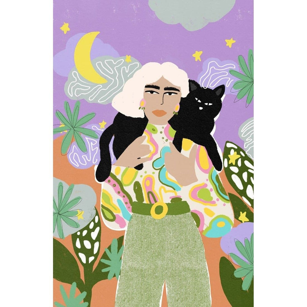 WITCHY WOMAN ART PRINT - Art Print - Alja Horvat