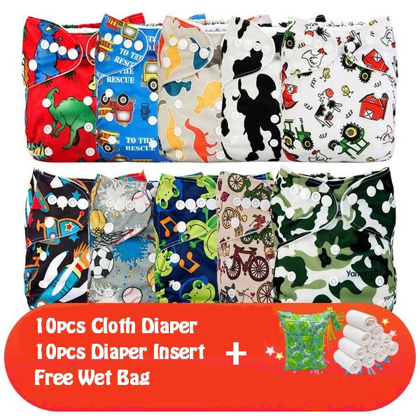 Cloth diaper starter set