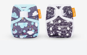 Newborn Hook & Loop Eco-friendly Cloth Diaper