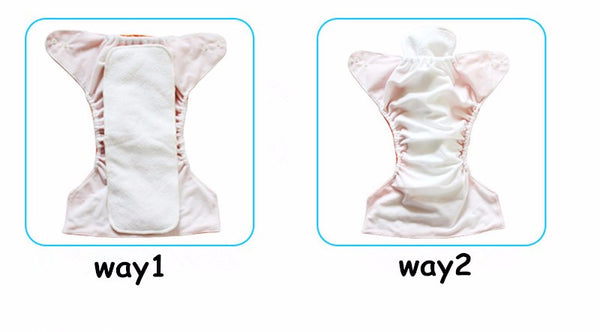 Starter Set 10pcs Cloth Diaper 3-15Kg + Free Wet Bag