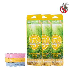 3pcs Insect Repellent Bands | All Natural
