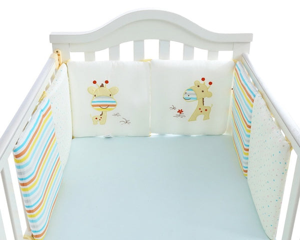 Comfortable Baby Bed Bumper 6pcs - Sunveno