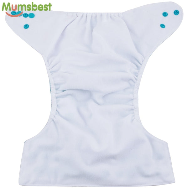 Baby Cloth Diaper + Insert | Adjustable 3-15Kg