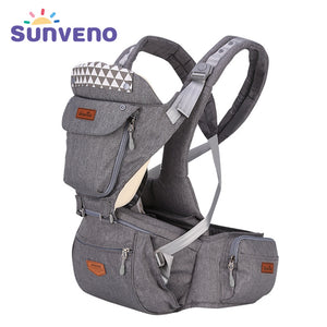 Ergonomic Baby Carrier | Hipseat 0-36M - Sunveno