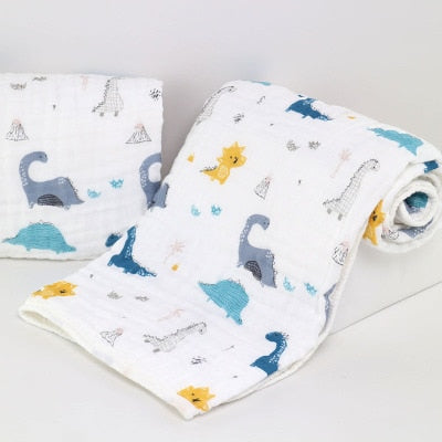 Baby Swaddle | 6 Layers Muslin 100% Cotton