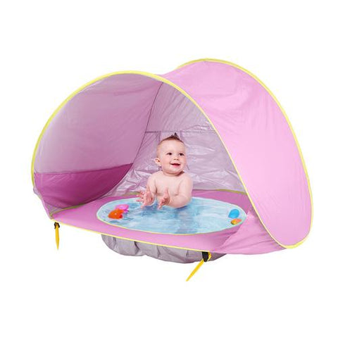 Pop Up Baby Beach Tent | UV Protection Sun Shelter