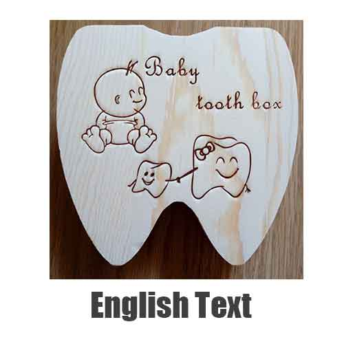Baby Tooth Box | Unique Gift