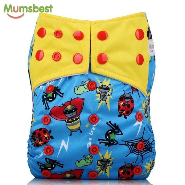 Cloth Diaper + Insert | Adjustable 3-15Kg
