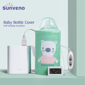 USB Baby Bottle Warmer | Keeps Milk or Water Warm