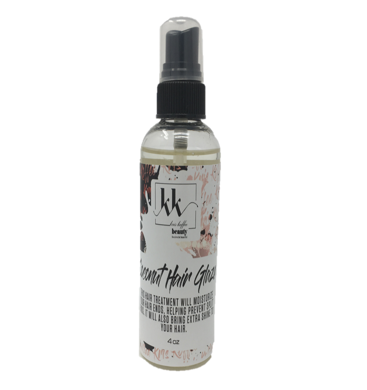 Coconut Hair Glaze - Kris Koffee Beauty