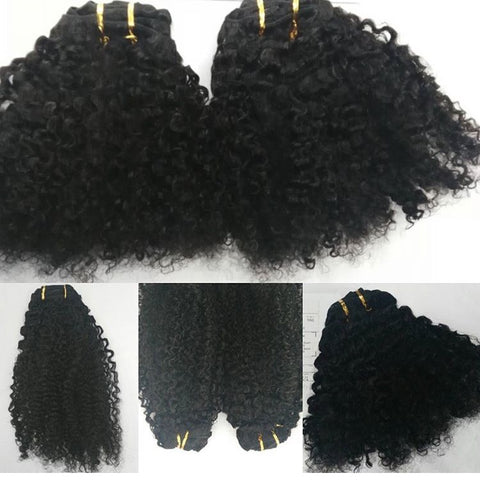 3B 3C Curly Clip Ins
