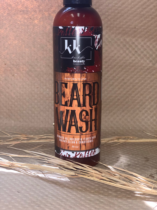 Beard Wash - Kris Koffee Beauty