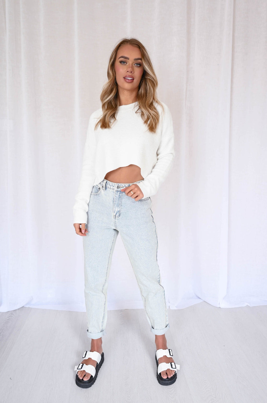 Bridey Cropped Knit