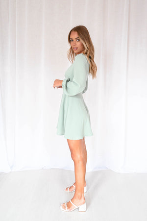 Peppers Dress - Sage