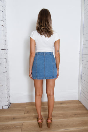 Juliette Denim Skirt