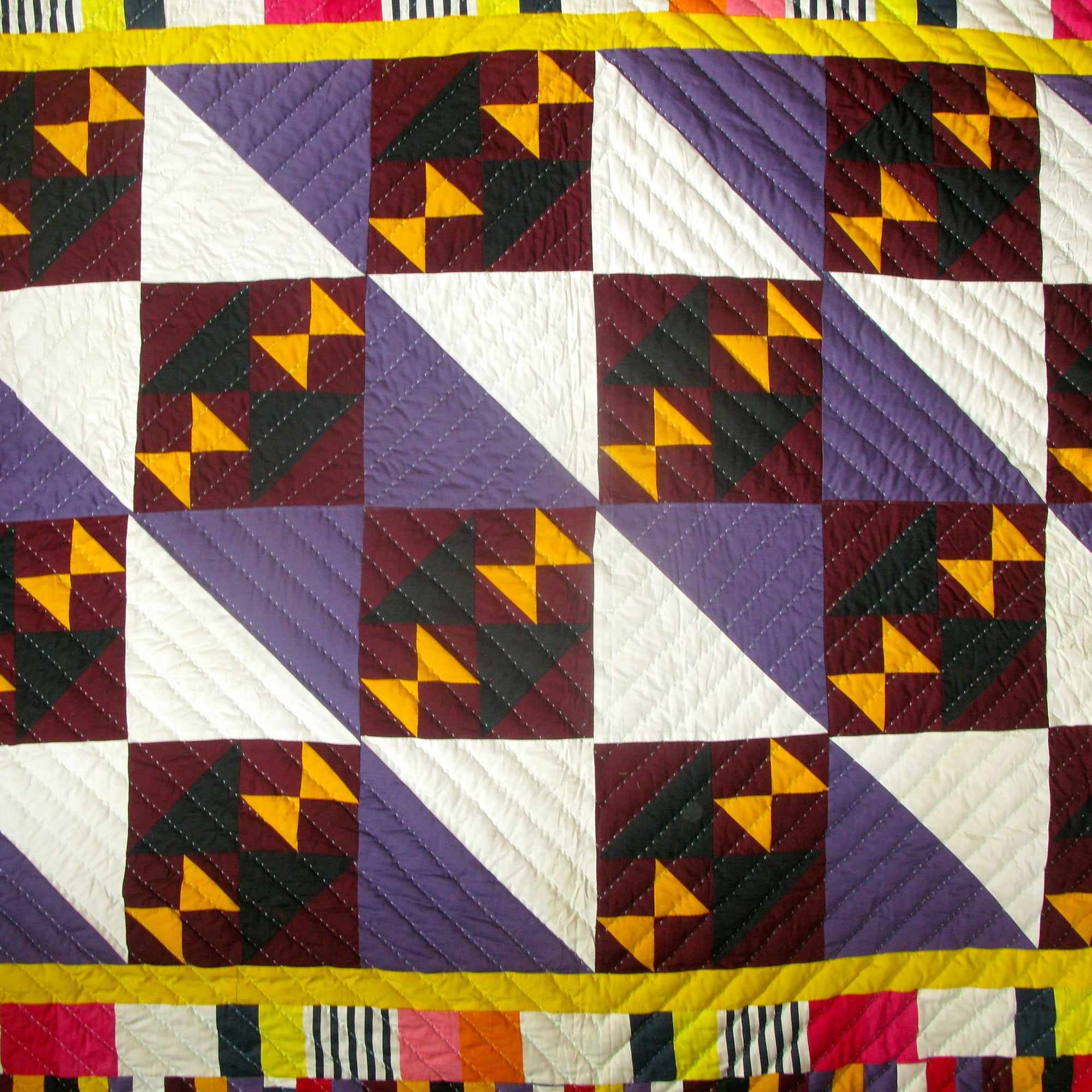 Fancy Quilt- Bow Tie Squared