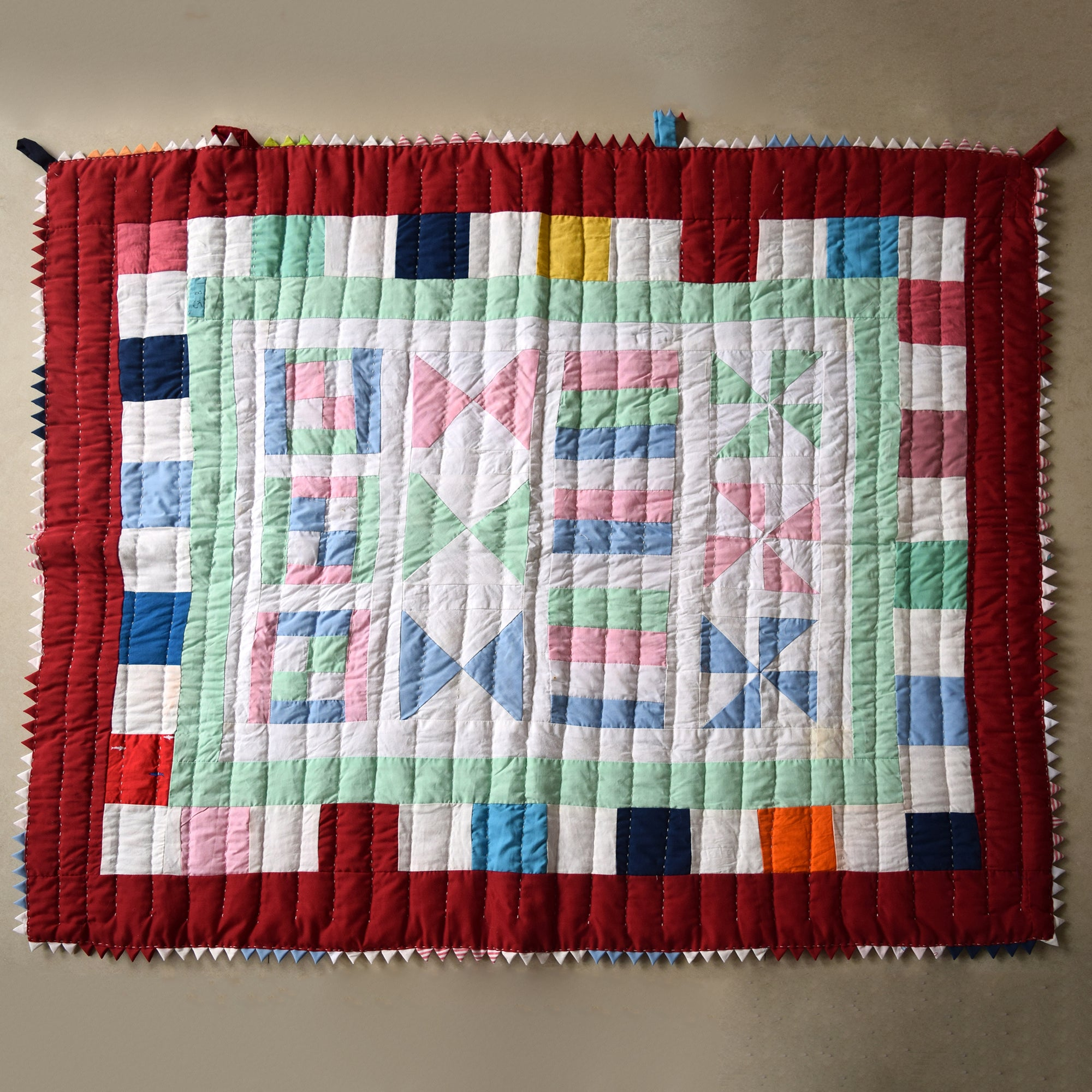 Baby Quilt- City Sweet