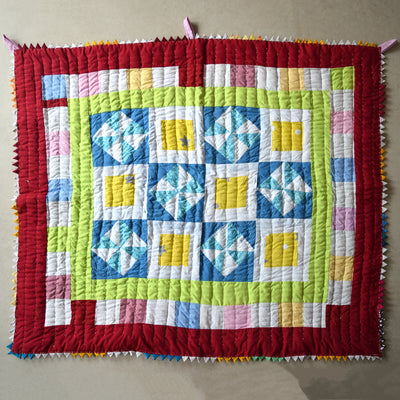 Baby Quilt- Flower Patch