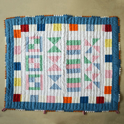 Baby Quilt- Piano Keys