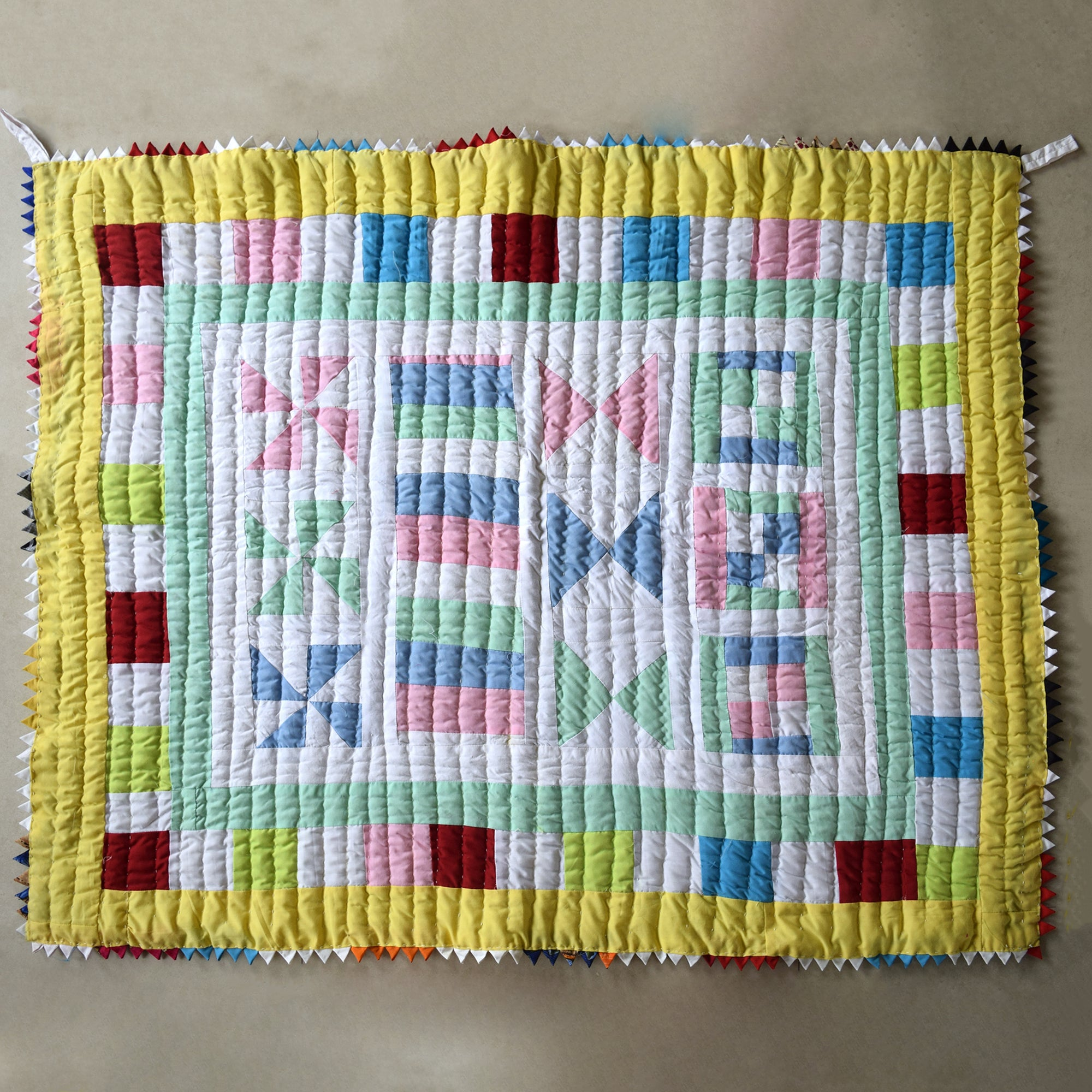 Baby Quilt- Timeless Village