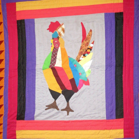 Fancy Quilt- King Of The Roost